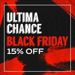 Última Chance Black Friday 15% OFF
