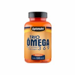 Trio Omega 3, 6 e 9 (120 caps)
